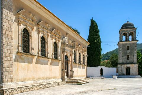 Keri: A miracle-working icon is housed in Panagia Keriotissa church.
