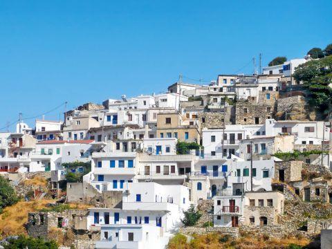 Koronos: Cycladic houses