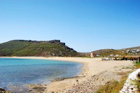 Panormos: Panormos beach
