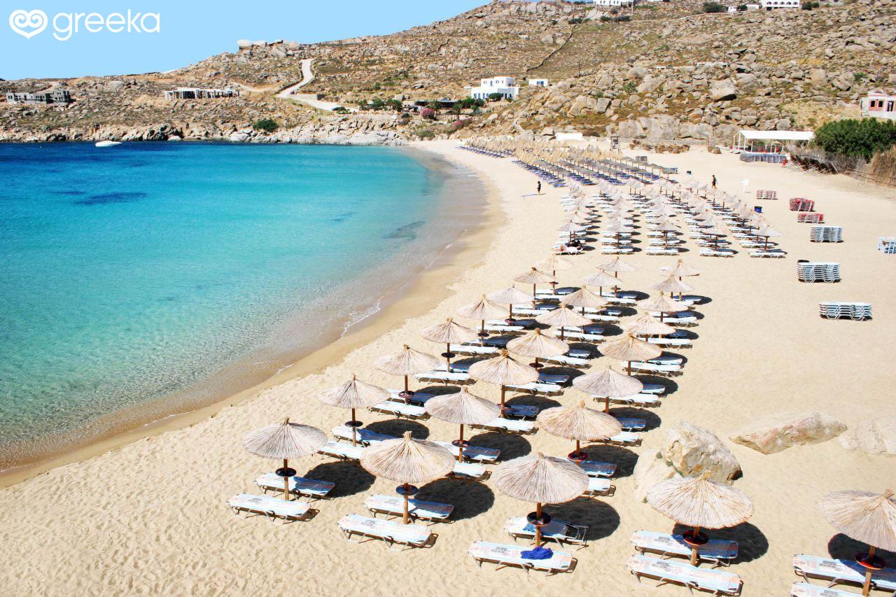 Super Paradise Beach Mykonos Beaches
