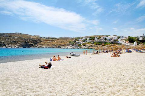 Agia Anna: Sandy beach