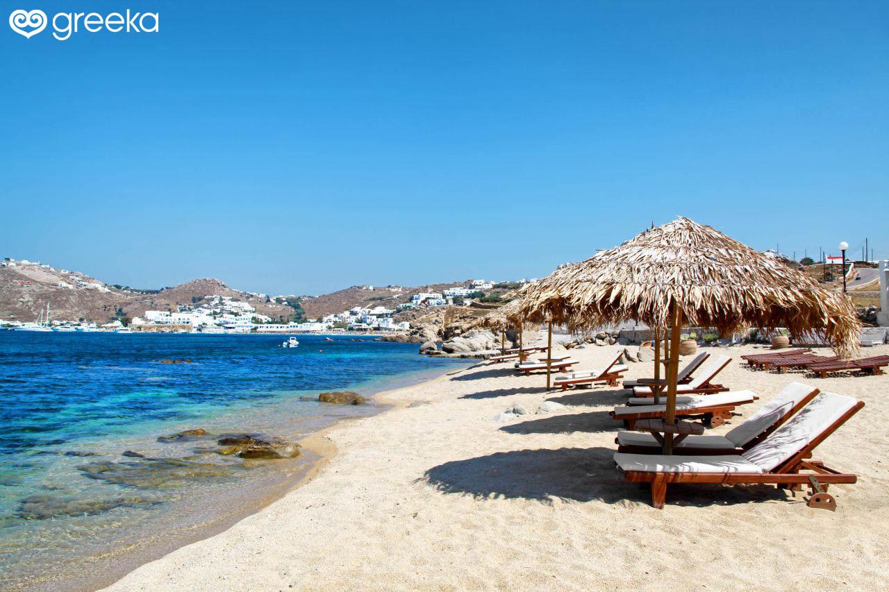 Agia Anna Beach Mykonos Beaches