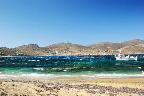 Divounia: Divounia beach