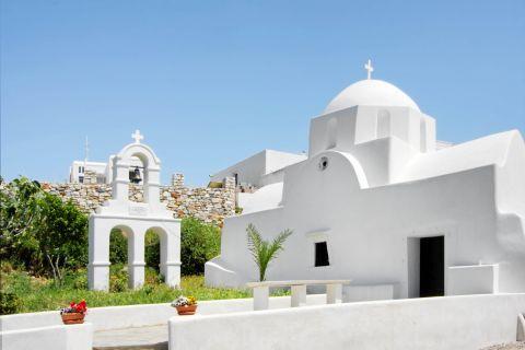 Prodromos: A whitewashed church