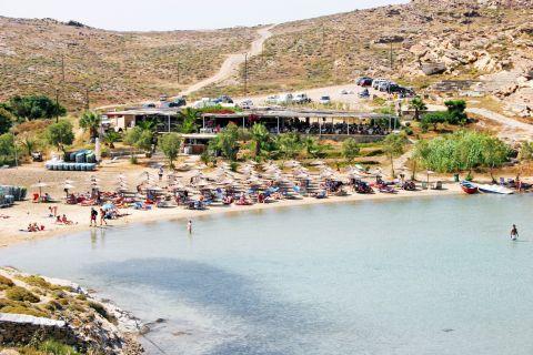 Monastiri: The well-organized Monastiri beach
