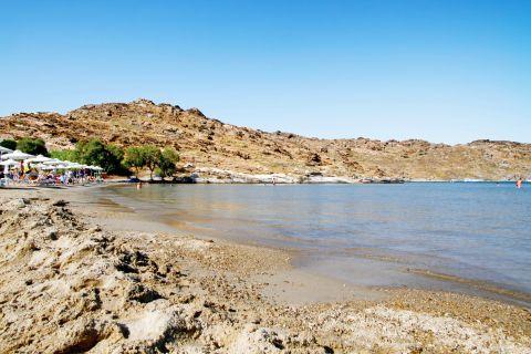 Monastiri: The surroundings of Monastiri beach