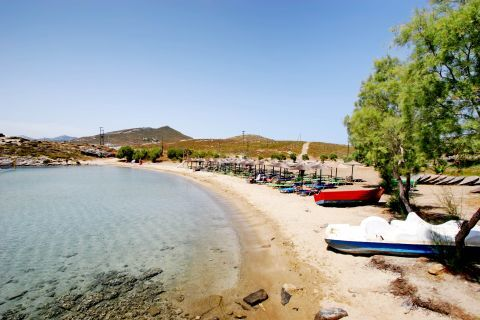Monastiri: An organized spot of Monastiri beach