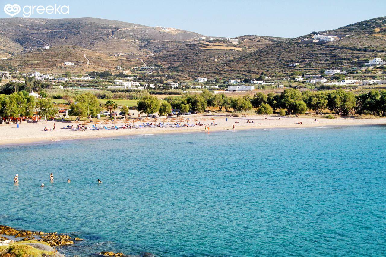 Paros Krios beach - Paros Beaches | Greeka.com
