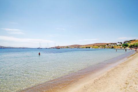 Livadia: Panoramic view of Livadia beach