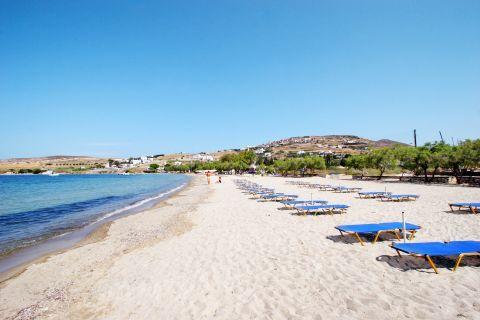Livadia: An organized part of Livadia beach
