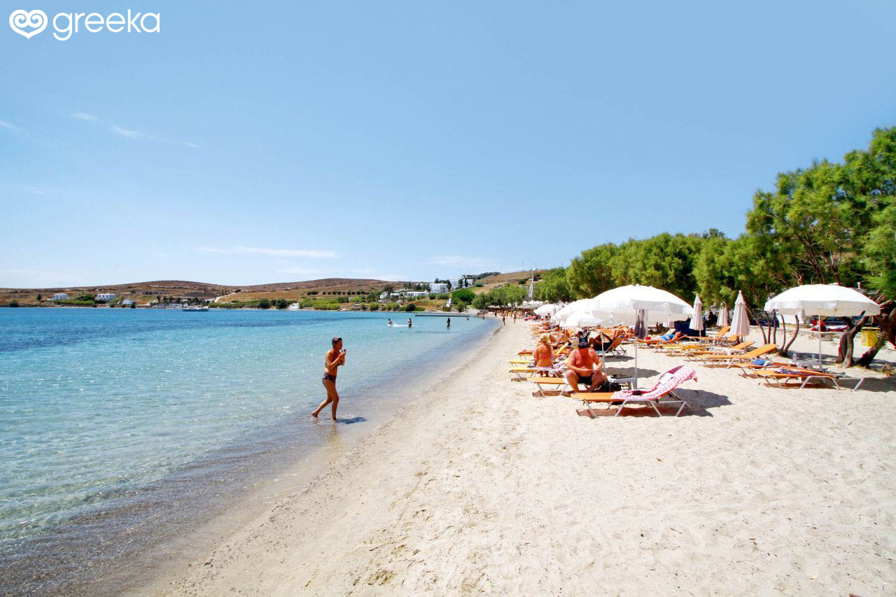 Paros Livadia beach - Paros Beaches | Greeka.com