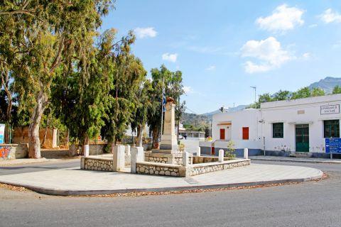 Halki: A central spot in Halki village