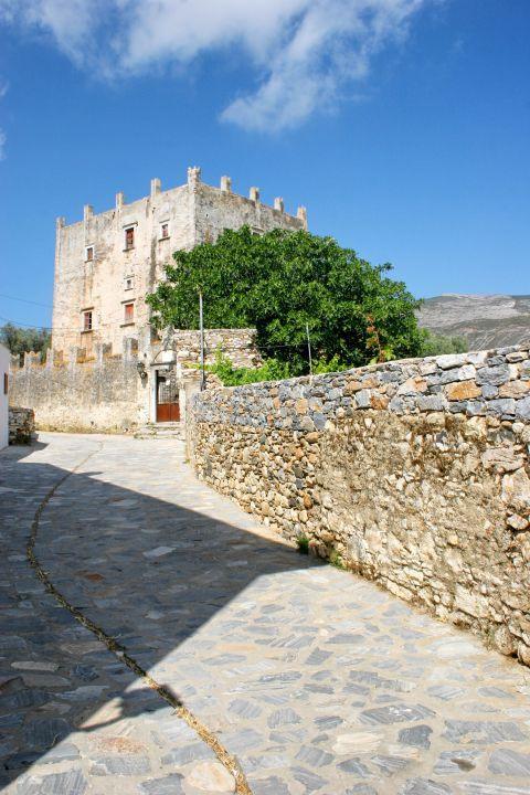 Halki: Stone built area