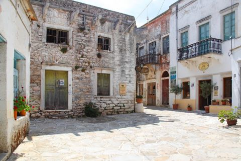 Halki: Old houses