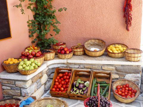 Halki: Local products