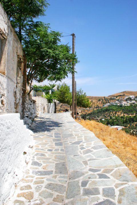 Melanes: A stone-paved path
