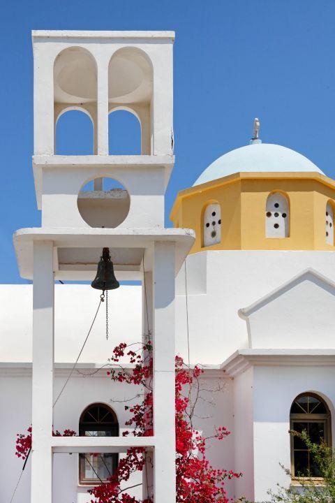 Galini: A colourful church in Galini
