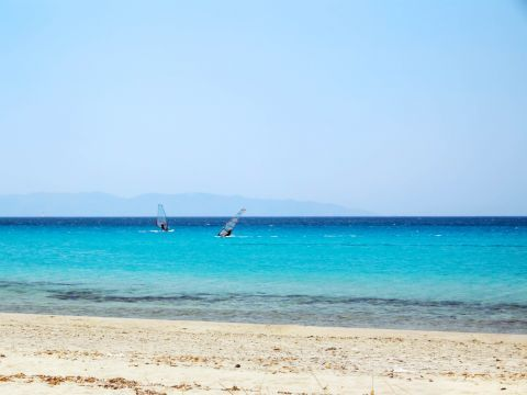 Sahara: Kite surfing