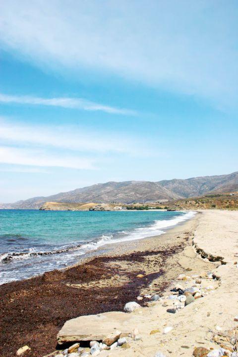 Amitis: The unspoiled Amitis beach