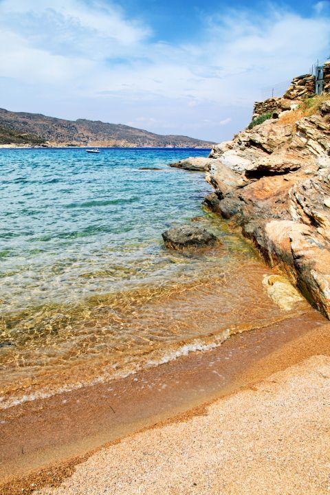 Kalamos: Crystal clear waters