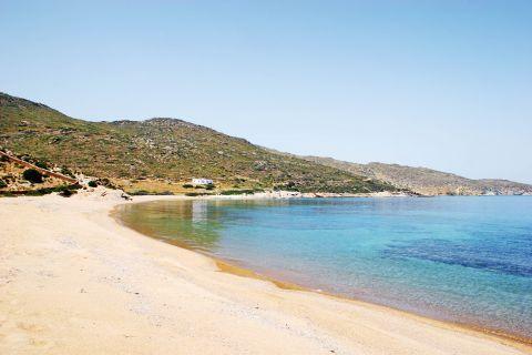 Kalamos: Kalamos beach