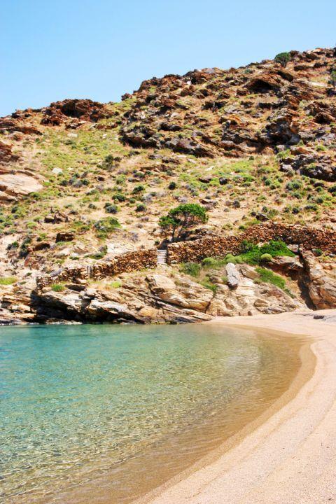 Kalamos: Beautiful landscape of Kalamos beach