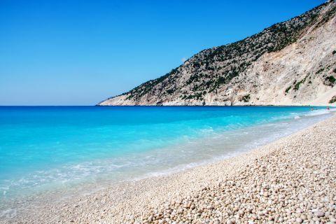 Myrtos: Myrtos beach