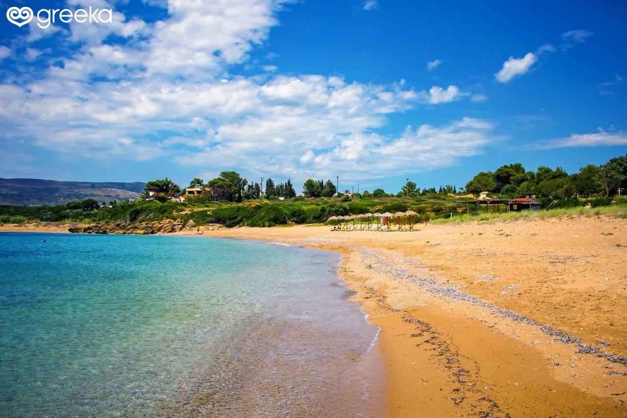 Vrachinari Beach in Kefalonia | Kefalonia Beaches - Greeka com