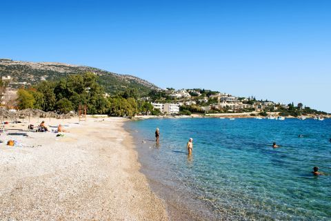 Porto Rafti: Porto Rafti is popular to many Athenians