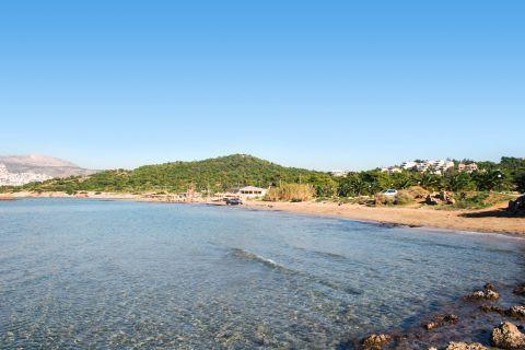 Kavouri: The waters of Kavouri beach