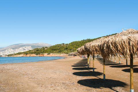 Kavouri: The organized beach of Kavouri