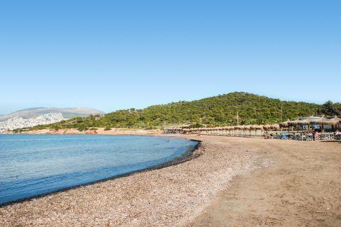 Kavouri: Beautiful landscape of Kavouri beach