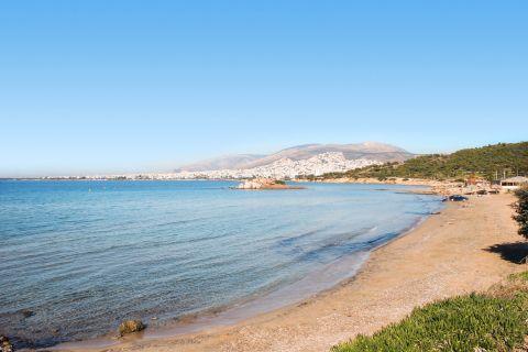 Kavouri: At Kavouri beach
