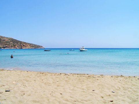 Platys Gialos: Platis Gialos beach