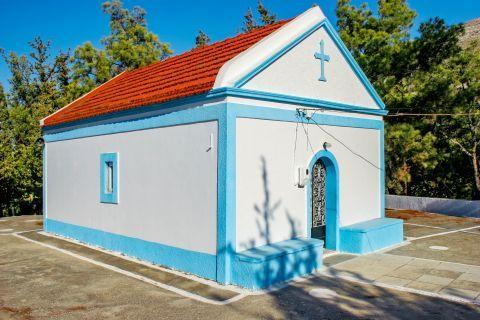 Embonas: A small chapel in Embonas village.