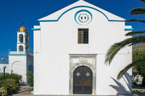 Embonas: A whitewashed chapel