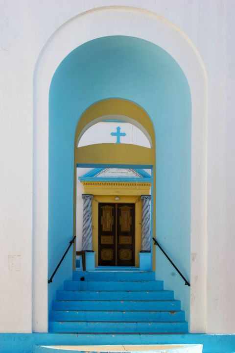 Embonas: Kimisis tis Theotokou church.