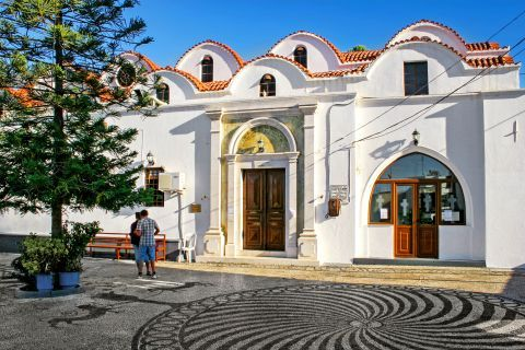 Archangelos: The Catholic Church of Archangelos
