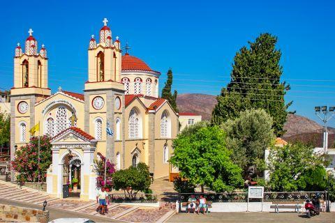 Siana: The church of Saint Panteleimon.