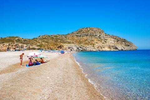 Traganou: Traganou beach, Rhodes