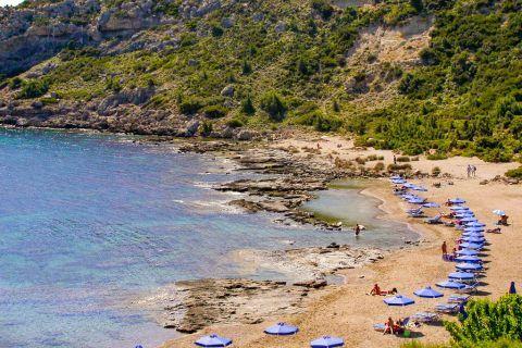 Faliraki Nudist: It is the only organised nudist beach in Rhodes.