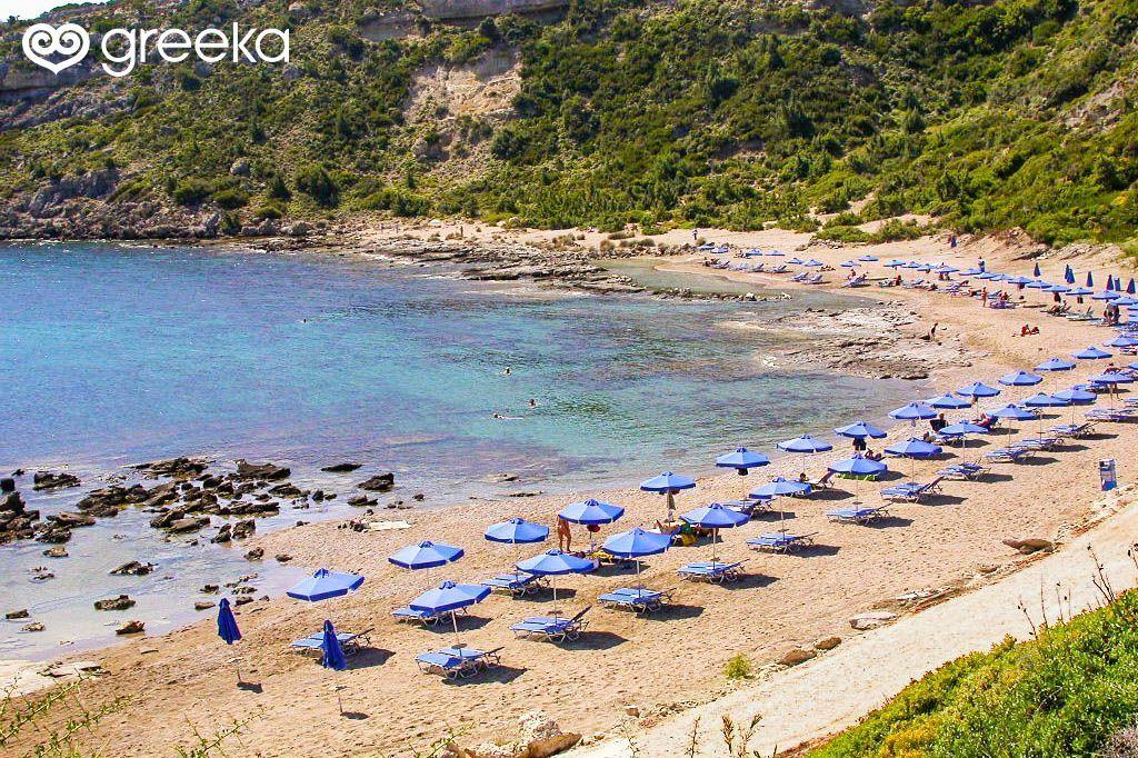 Rhodes Faliraki Nudist beach | Rhodes beaches - Greeka.com