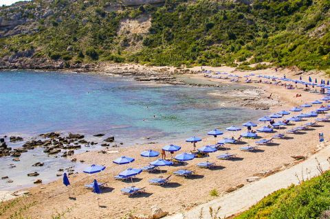 Faliraki Nudist: The nudist friendly part of Faliraki beach is also known as Mantomata beach.