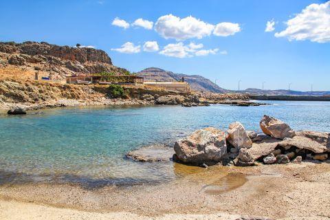 Katsouni: Some rock formations on Katsouni beach.