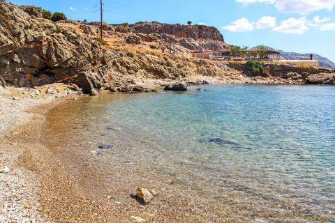 Katsouni: Katsouni is a quiet beach, not spoiled by human intervention.