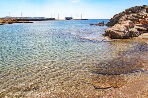 Katsouni: Crystal clear waters. Katsouni beach.