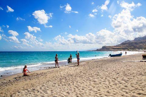 Lothiarika: Sandy beach