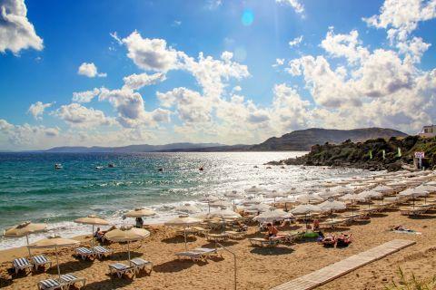 Pefki: Beautiful view of Pefki beach.