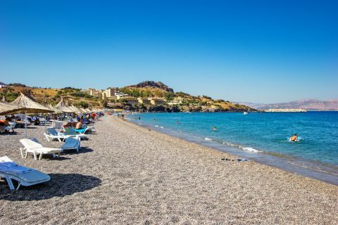Vlicha: The best part about this beach is that it is never too crowded.