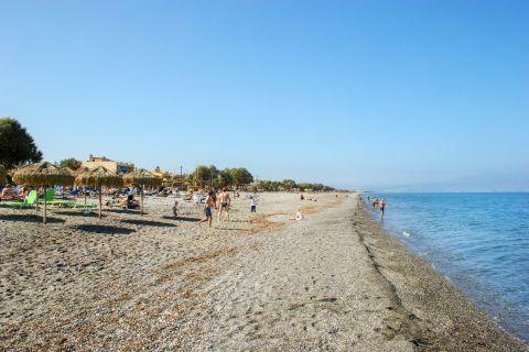 Platanias Village: At the beach of Platanias